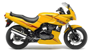 The Ninja 500 goes way back (1987) and has always been a great starter bike for beginner riders