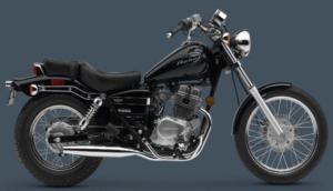 2007 Honda Rebel 250 budget and beginner friendly motorcycle