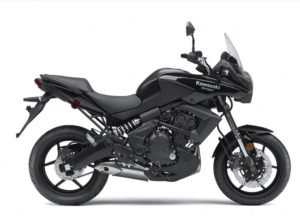 Kawasaki versys 650 is a solid beginner for riders in the dual sport category