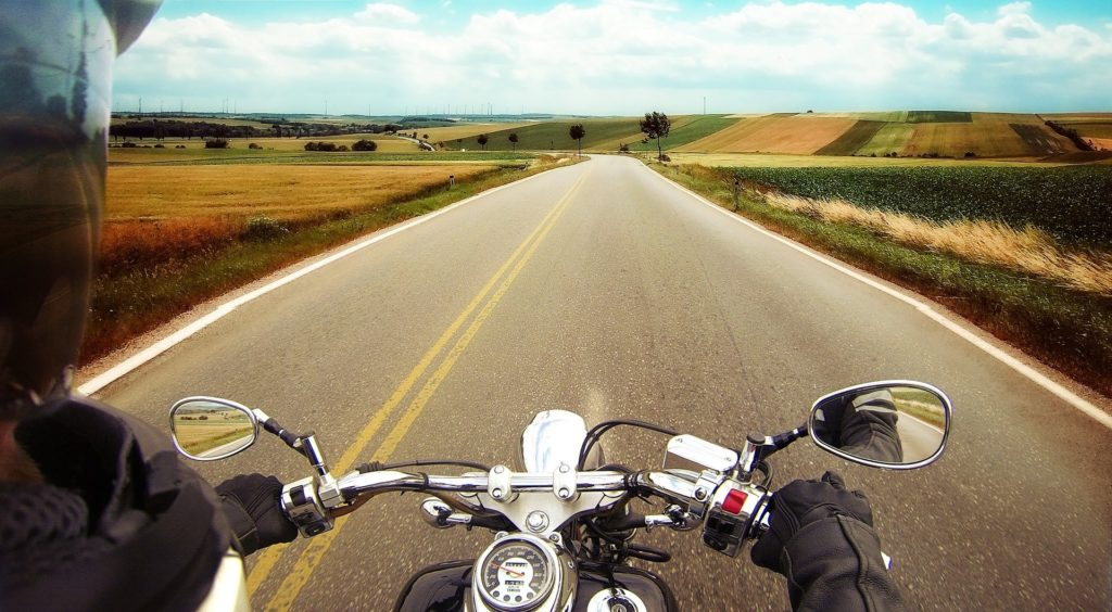 automatic motorcycle for beginner riders graphic image