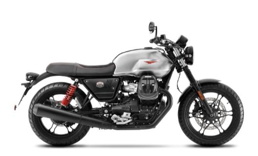 2020 Moto Guzzi V7 beginner motorcycle